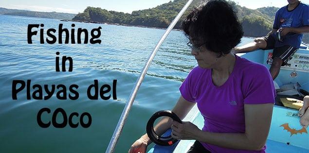 fishing in playas del coco, costa rica