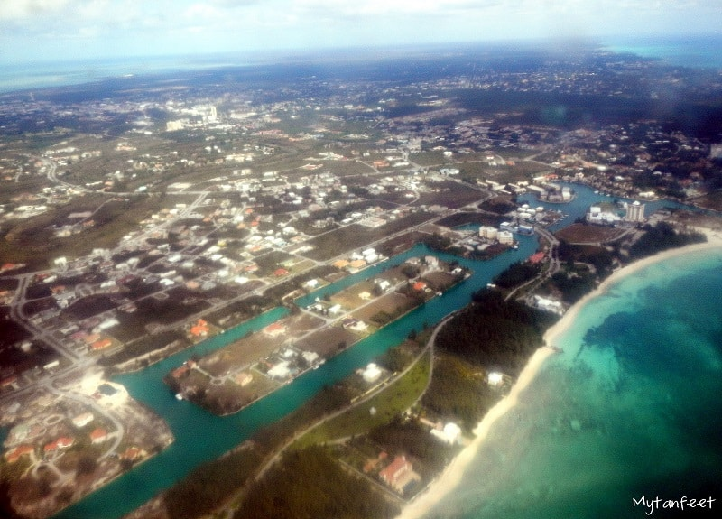 nassau and freeport - Nassau from the air