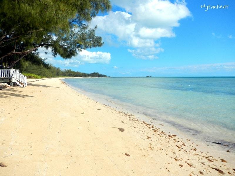 nassau and freeport - beach in nassau