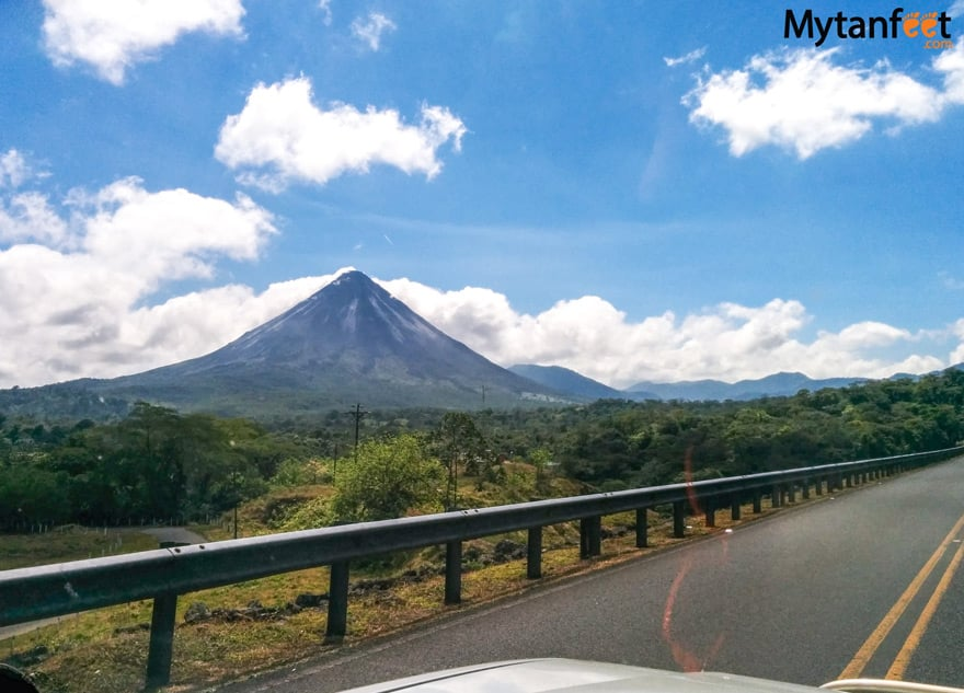 Driving to Arenal From Guanacaste - Arenal Volcano