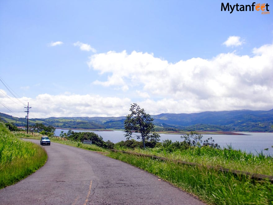 Driving to Arenal From Guanacaste