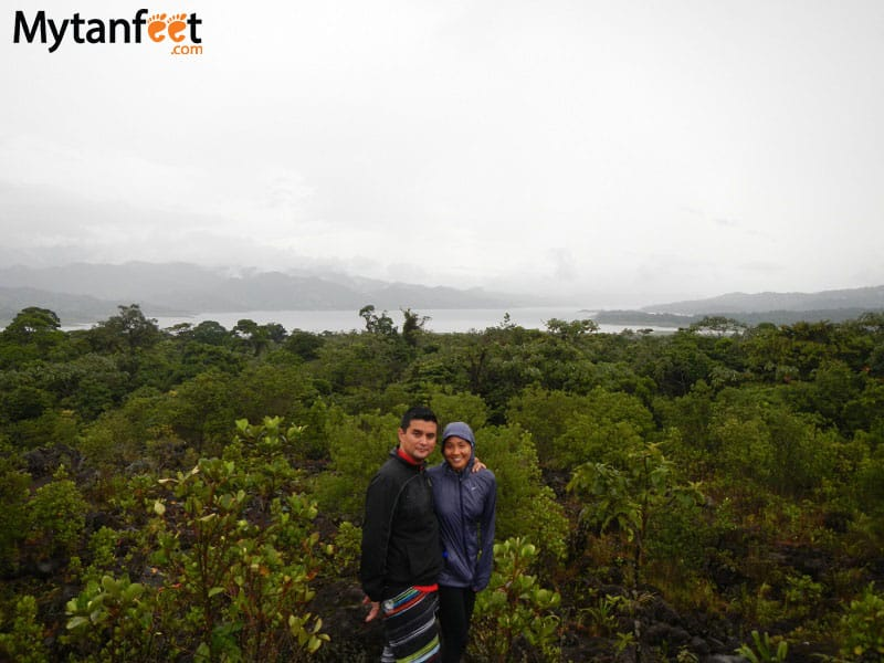 arenal volcano combo tour - arenal volcano national park