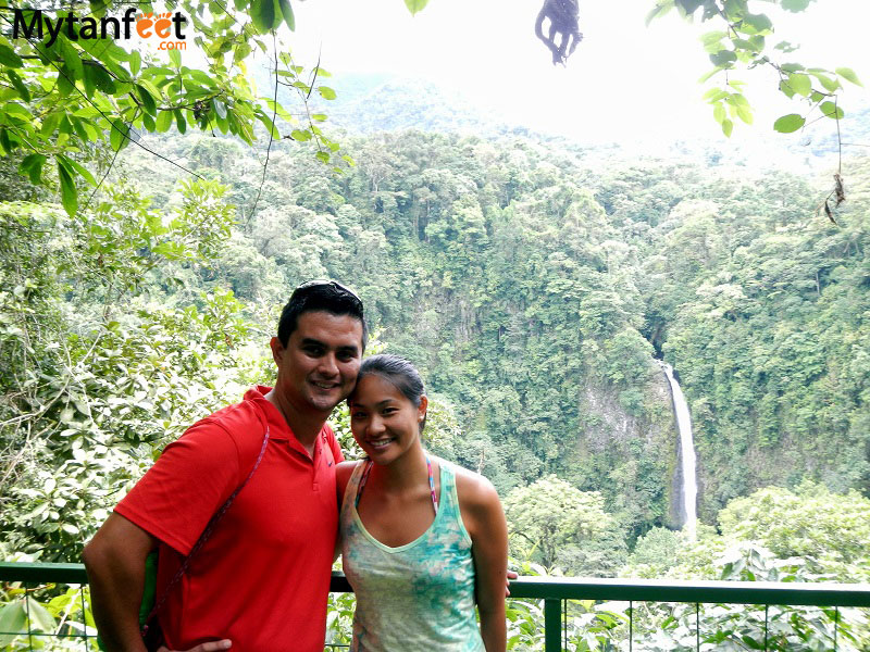 arenal volcano combo tour - la fortuna waterfall