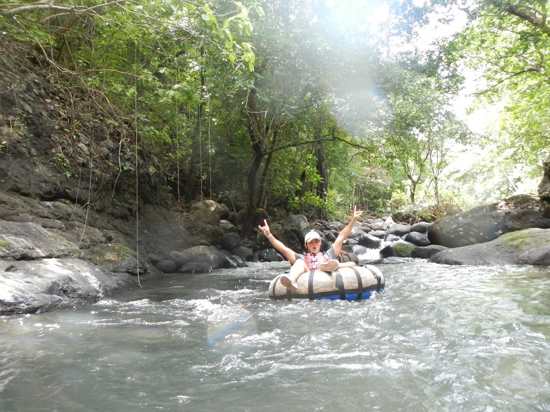 guachipelin combo tour - white water tubing