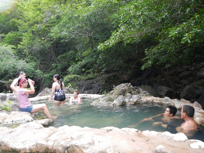 Guanacaste, Costa Rica hot springs