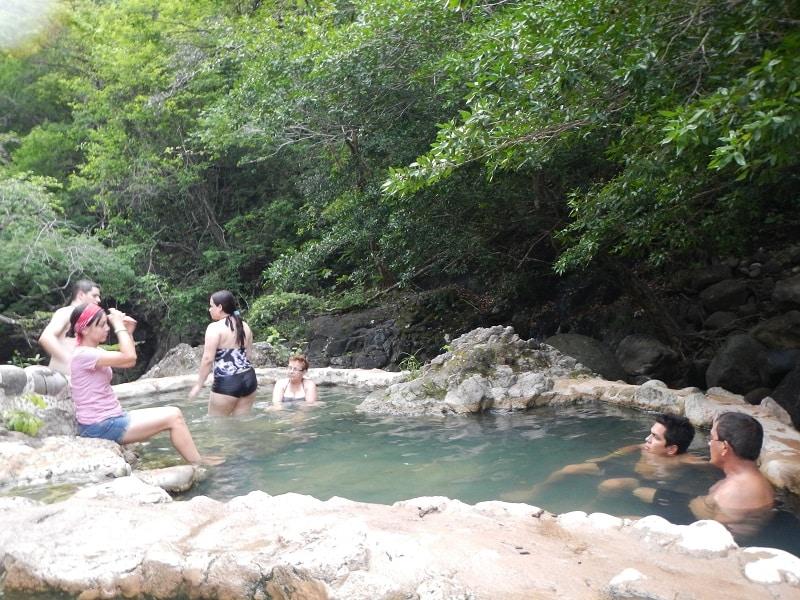 Guanacaste, Costa Rica hot springs