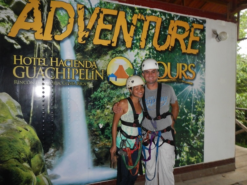 Hacienda Guachipelin adventure tour