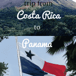 planning our trip to panama from costa rica