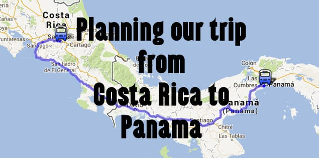 planning our trip to panama from costa rica - how we planned our trip all by bus and on a budget. Where we stayed in Panama City, how we visited San Blas, taking the bus to Bocas and getting back to Costa Rica
