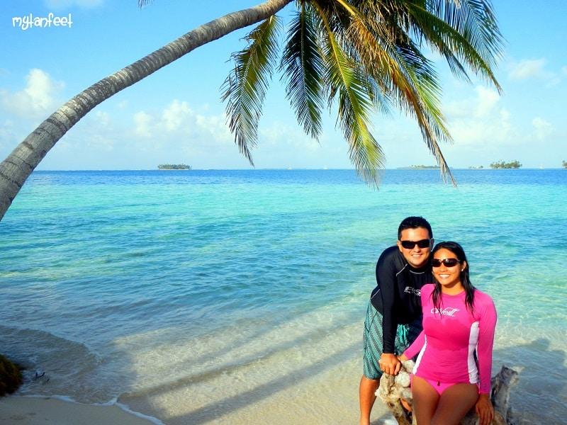 san blas islands - pelican island