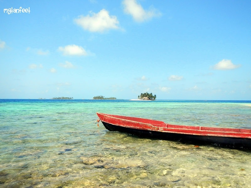 san blas islands - dog island