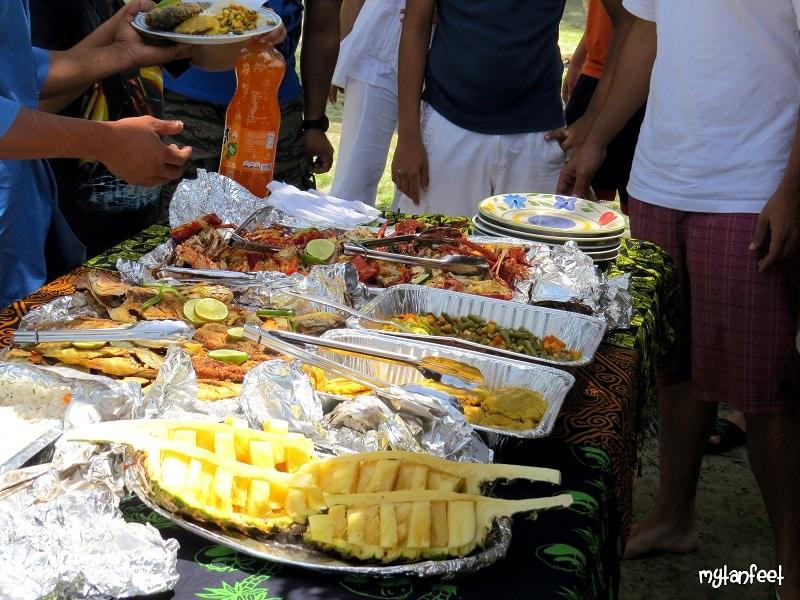 san blas islands - seafood feast