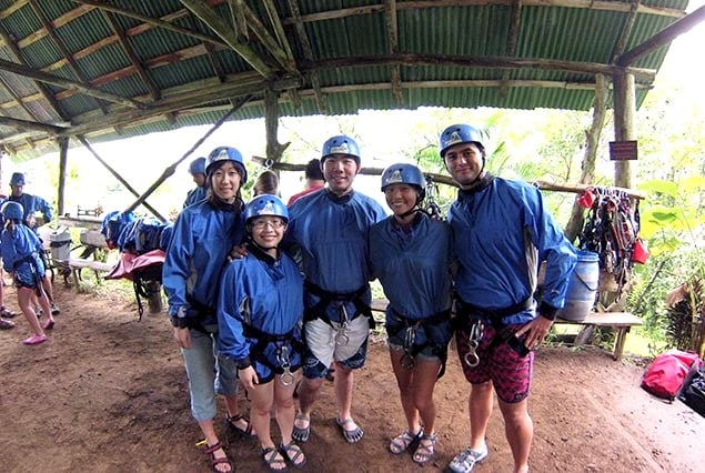 Canyoning in Arenal - Pure Trek Canyoning