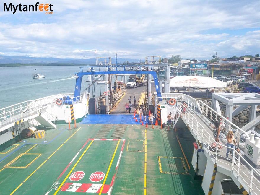 Puntarenas Ferry to Paquera