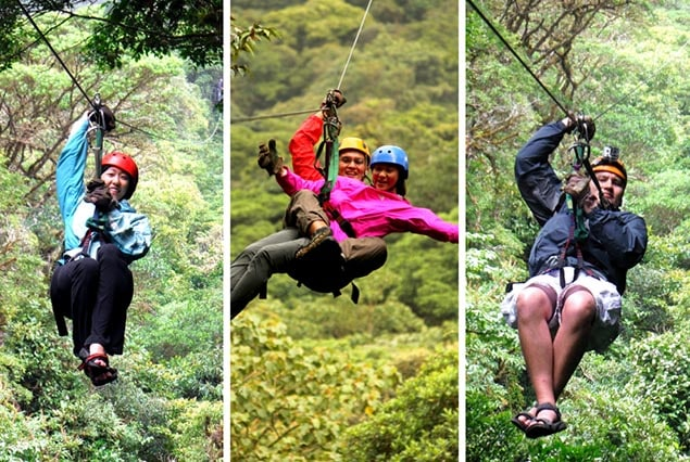 Selvatura Park in Monteverde - ziplining