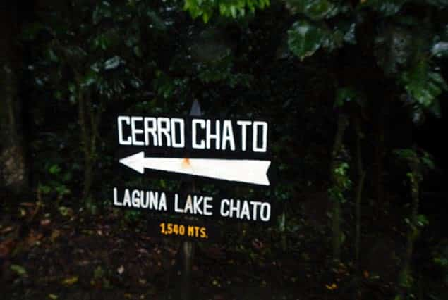 hiking Cerro Chato
