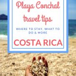 Playa Conchal travel tips