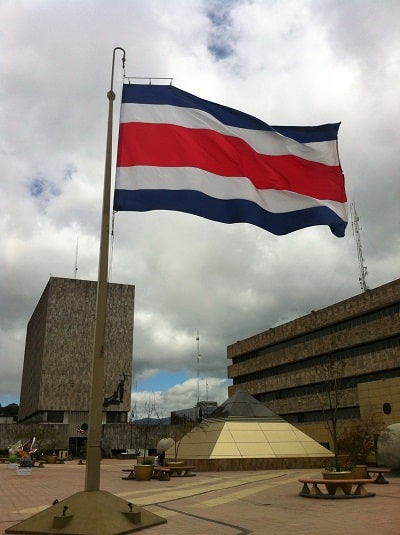 Meaning of the Costa Rica Flag