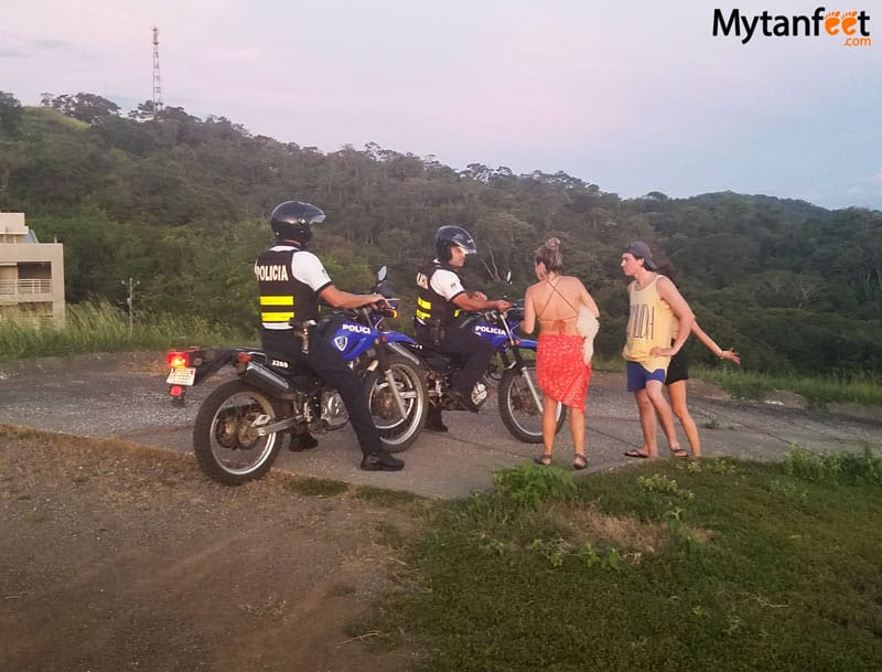 safety tips for costa rica - tourist police