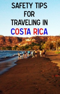 safety tips for traveling in costa rica featured