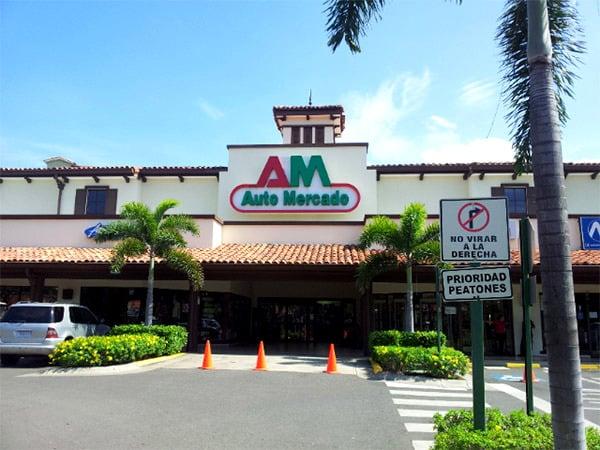 Grocery Stores in Playas del Coco - auto mercado