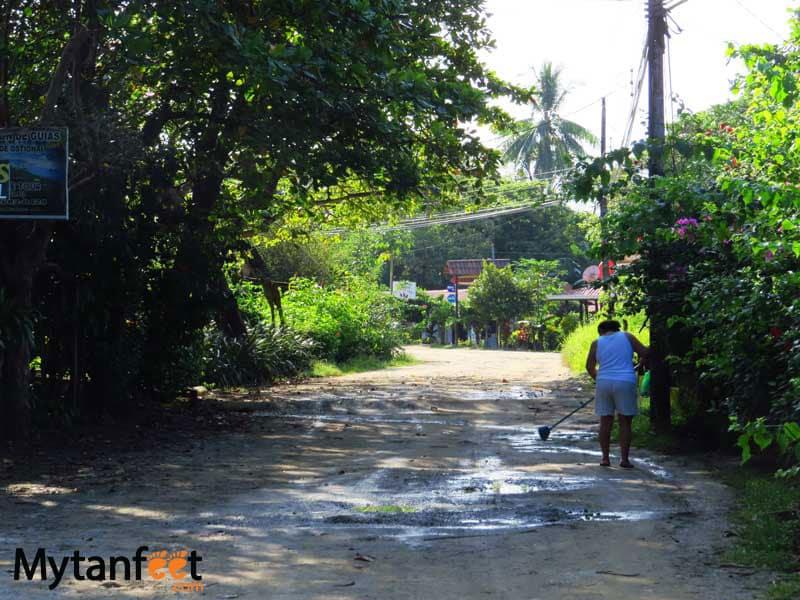 Ostional wildlife Refuge - Ostional Costa Rica town