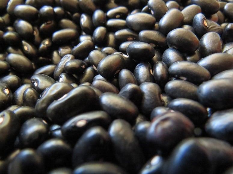 slow cook black beans