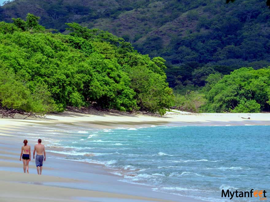 Romantic things to do in Costa Rica - beach