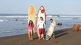 surf camp in playa jaco