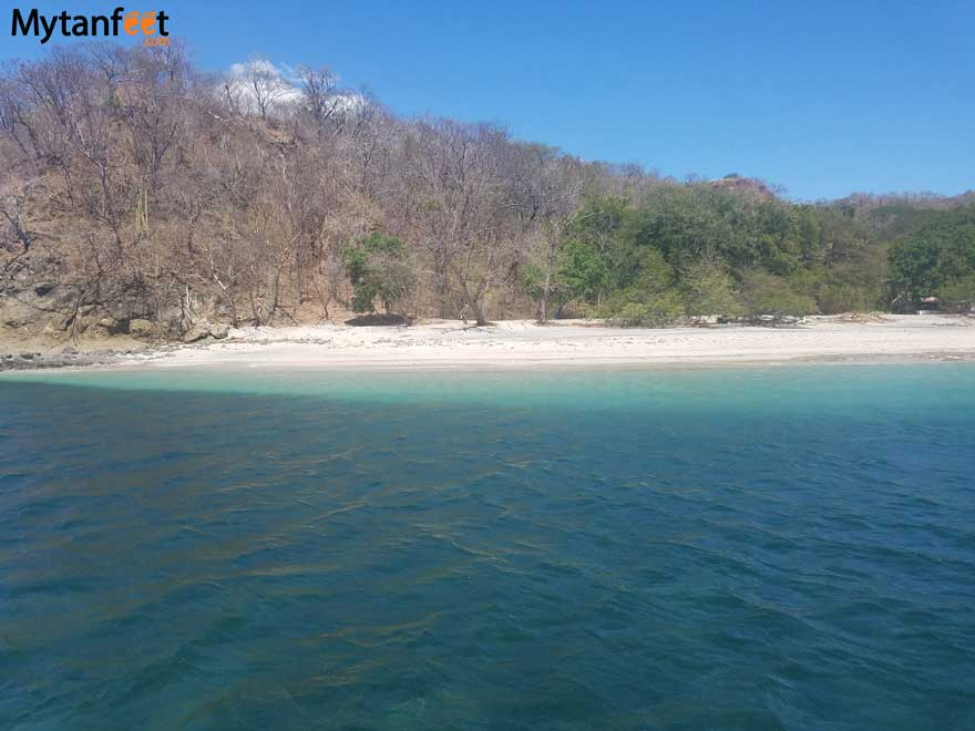 Playas del Coco itinerary - boating in Gulf of Papagayo