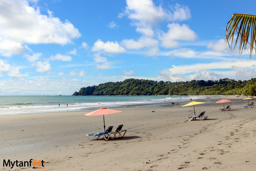 manuel antonio national park playa espadilla norte