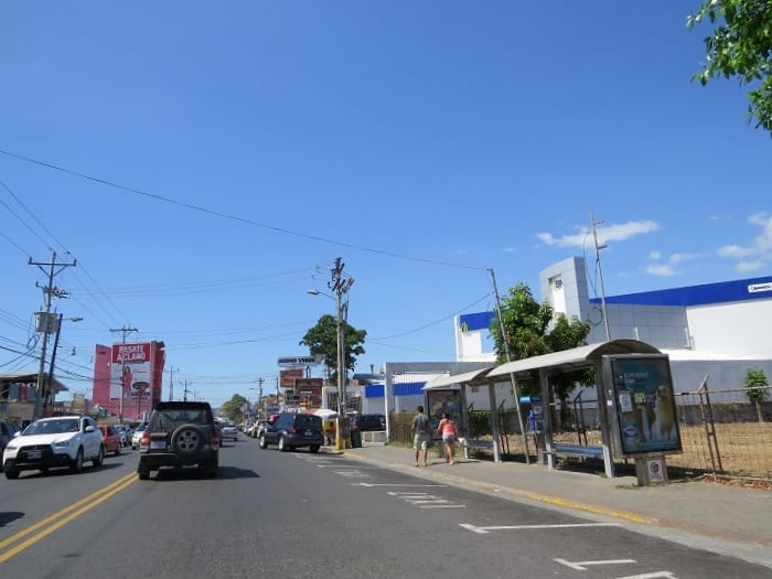 visiting playa jaco infrastructure