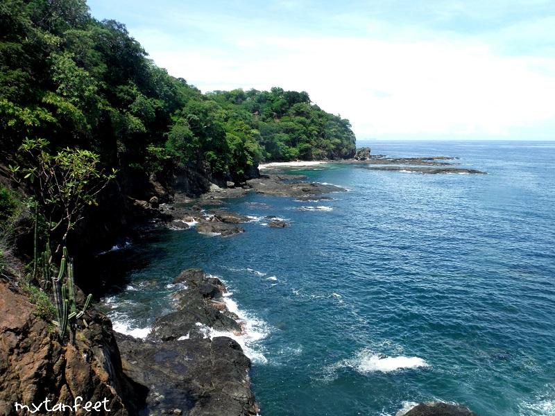 5 beautiful beaches in guanacaste costa rica you've never heard of - playa huevo cliff view