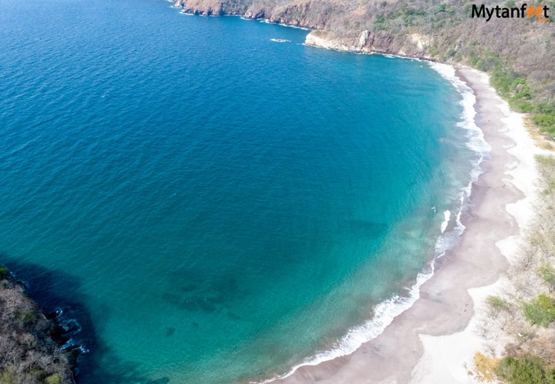 beaches in guanacaste - playa mina
