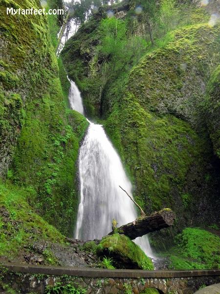 columbia river gorge national scenic area - Wahkeena Falls