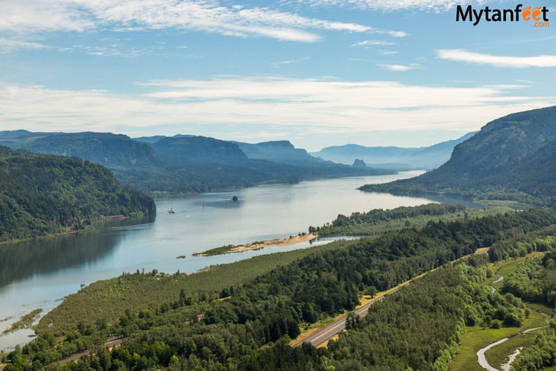 columbia river gorge national scenic area - viewpoint