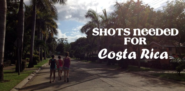 shots for costa rica