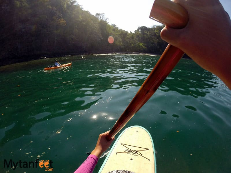 Things to do in Costa Rica - stand up paddle board