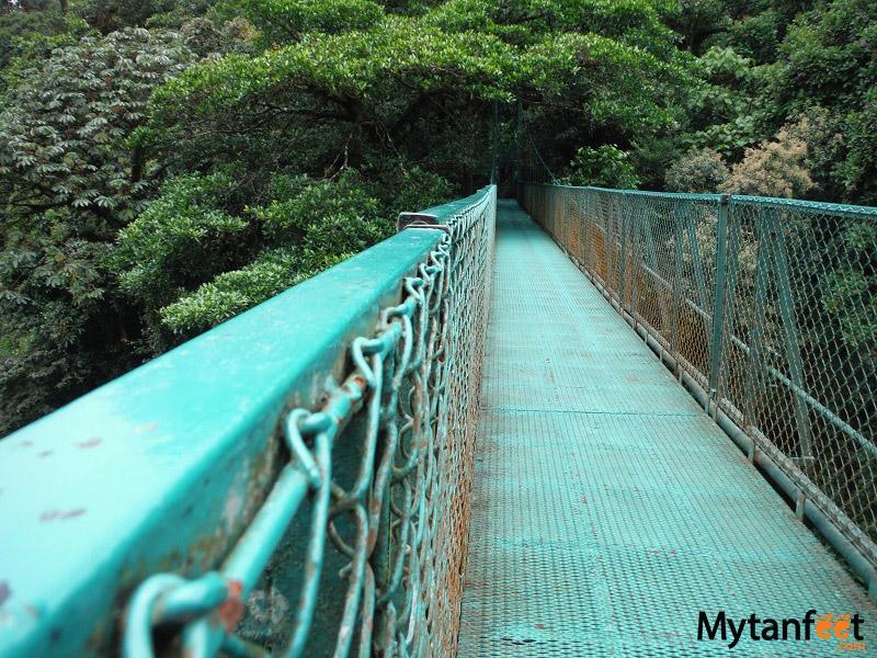 things to do in costa rica - Hanging bridges monteverde