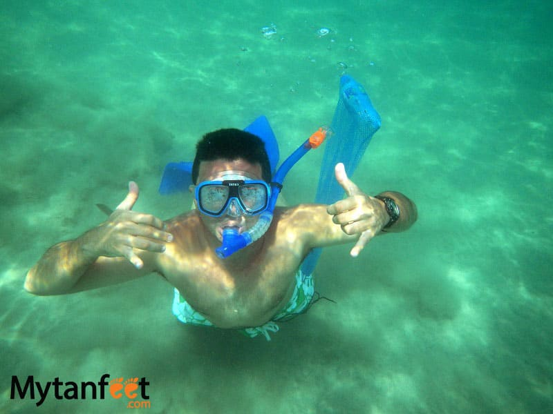 50 things to do in costa rica - snorkeling
