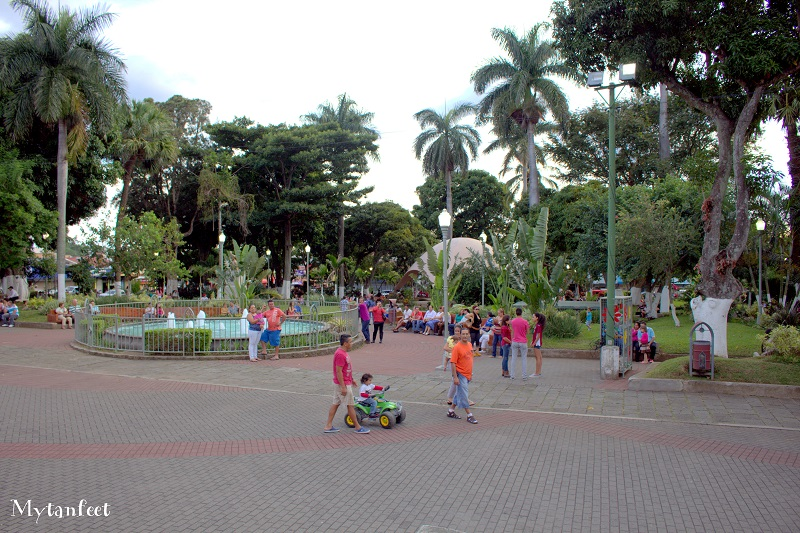 Grecia local park