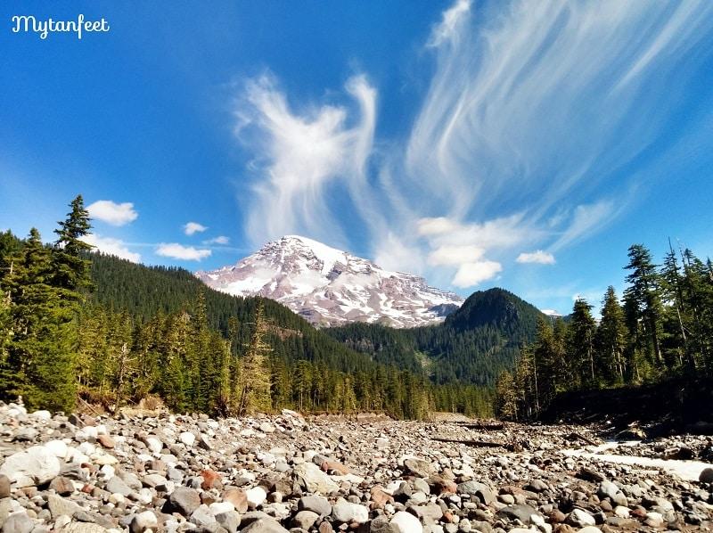 Mount Rainier National Park - cougar rock