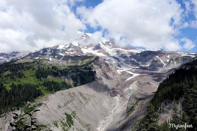 Mount Rainier National Park - nisqually vista glacier trail