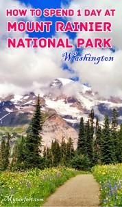 how to spend one day at mount rainier national park