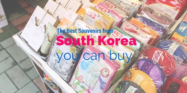souvenirs from south korea