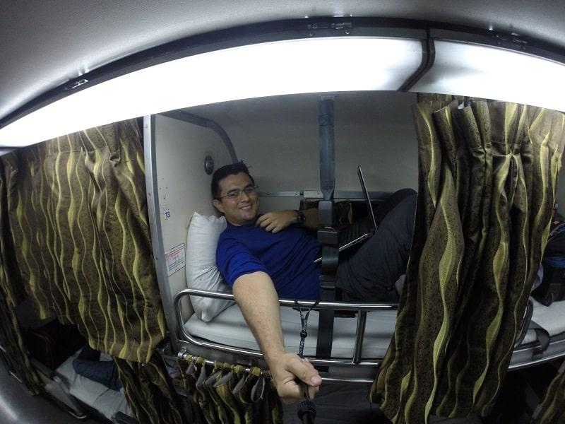 Cost of travel in Malaysia - train from Kuala Lumpur to Georgetown