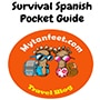 mytanfeet survival spanish pocket guide