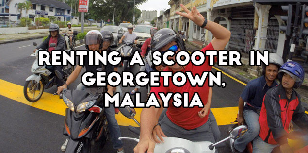 renting a scooter in georgetown featured