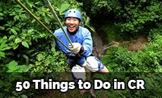 50 things to do in Costa Rica
