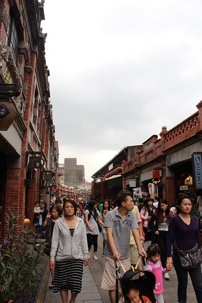 old streets in taiwan sanxia